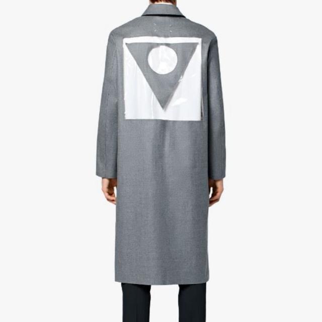 Maison Martin Margiela(マルタンマルジェラ)のメゾンマルジェラ マッキントッシュ コート マルジェラ メンズのジャケット/アウター(ステンカラーコート)の商品写真