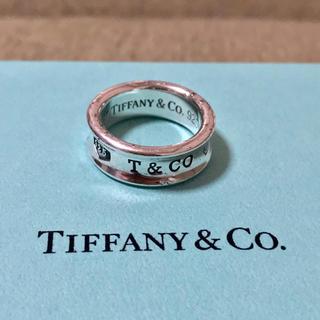 Tiffany & Co. - ティファニー 1837 ナロー リング 指輪 ワイド 9号 925