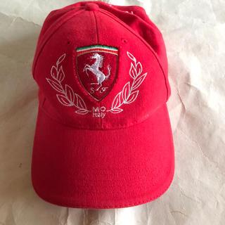 フェラーリ(Ferrari)のキッズ キャップ フェラーリ(帽子)