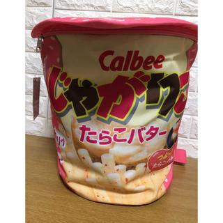 カルビー(カルビー)のじゃがりこリュック ♡たらこ♡新品タグ付 ピンク(キャラクターグッズ)