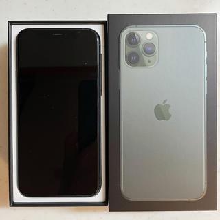 iPhone - 超美品、iPhone 11 Pro ナイトグリーン256GB、SIMフリー。