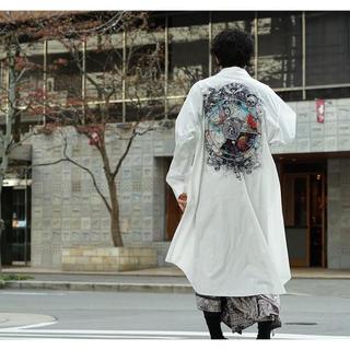 Yohji Yamamoto - Ground Y 19ss 笹田靖人 六道 ビッグシャツ 希少 ヨウジヤマモト