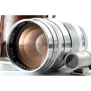 キヤノン(Canon)のCanon キャノン 85mm f1.9 ltm Lマウント ファインダー付き(フィルムカメラ)