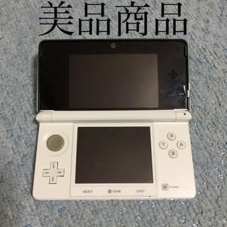 ニンテンドー3DS - 【美品】Nintendo  3ds 本体 スノーホワイト