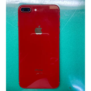 iPhone - 美品 iPhone8 Plus レッド256Gb Simフリーバッテリー100%