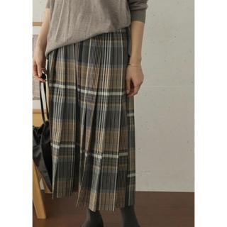 DOORS / URBAN RESEARCH - 新品☆アーバンリサーチ ドアーズ   チェックプリーツロングスカート
