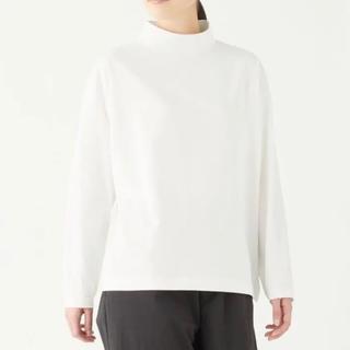 ムジルシリョウヒン(MUJI (無印良品))の無印良品 MUJI Labo 天竺編み ハイネック長袖Tシャツ XXS~XS(Tシャツ(長袖/七分))