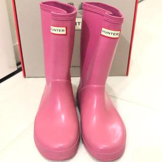 ハンター(HUNTER)のハンター💖レインブーツ 18cm(長靴/レインシューズ)