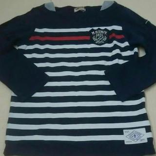 mikihouse - ミキハウス    マリン  長袖Tシャツ 120