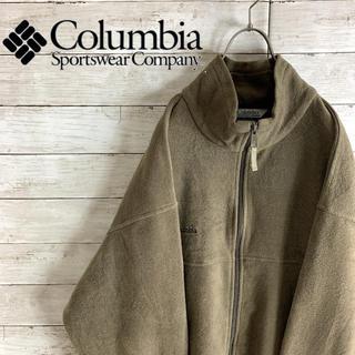 コロンビア(Columbia)の古着 コロンビア フリースジャケット ブルゾン 刺繍ロゴ メキシコ製(ブルゾン)