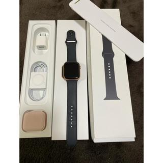 アップルウォッチ(Apple Watch)のApple Watch Series5 44mm Gold Aluminum(腕時計(デジタル))