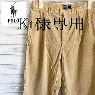 ポロラルフローレン(POLO RALPH LAUREN)のLサイズ USA製 古着 ポロ  ラルフローレン コーデュロイ パンツ #238(その他)