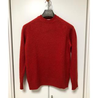 アダムエロぺ(Adam et Rope')のアダムエロペ シャギーセーター シャギードッグセーター ニット サイズS 赤(ニット/セーター)