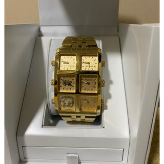 アヴァランチ(AVALANCHE)のアイスリンク 腕時計(金属ベルト)