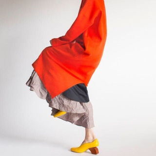 ENFOLD - ENFOLD 2019SS レイヤードスカート 36サイズ