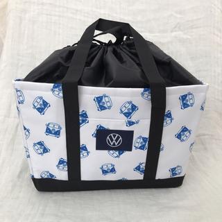 フォルクスワーゲン(Volkswagen)のフォルクスワーゲン オリジナルクーラートート エコバッグ 非売品(エコバッグ)