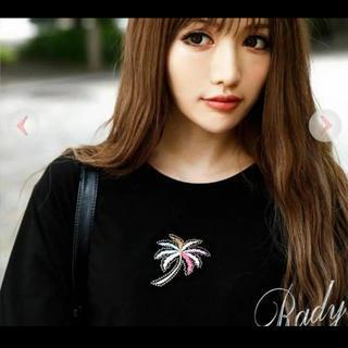 レディー(Rady)のRady パームツリー Tシャツ(Tシャツ(半袖/袖なし))