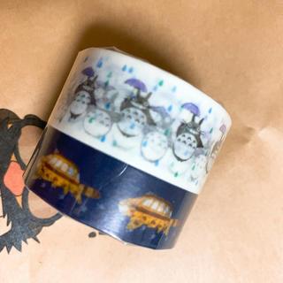 ジブリ - 新品新作ジブリ 森 美術館 三鷹となりのトトロとネコバス マスキングテープ
