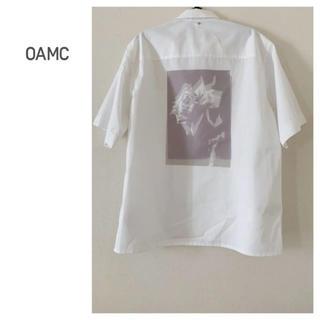 アナザーエディション(ANOTHER EDITION)のOAMC☆オーエーエムシー☆shirt☆半袖シャツ☆ホワイト☆白☆2020SS(シャツ)