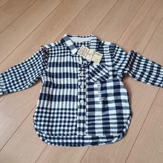 ムジルシリョウヒン(MUJI (無印良品))のチェックシャツ(シャツ/カットソー)