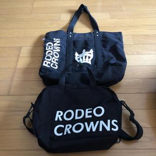 ロデオクラウンズワイドボウル(RODEO CROWNS WIDE BOWL)のRODEO CROWNSバッグまとめ売り(トートバッグ)
