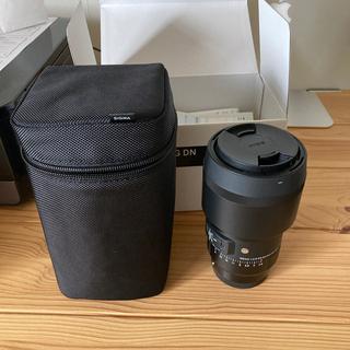 シグマ(SIGMA)の105mm F2.8 DG DN MACRO [ソニーE用](レンズ(単焦点))