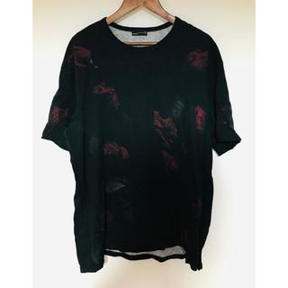 ラッドミュージシャン(LAD MUSICIAN)のラッドミュージシャン 花柄Tシャツ(Tシャツ/カットソー(半袖/袖なし))