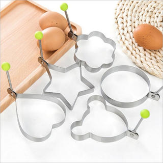 オムレツモデル 5セット 卵焼き 目玉焼きモデル キッチン用品 模型 ケーキ造形