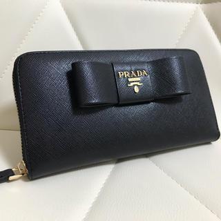 PRADA - コメント割引 プラダ PRADA  財布 ラウンドZIP 長財布 サイフ