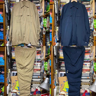 BEAMS - Navy A.H x SSZ WORK SHIRTS/PAINTER PANTS