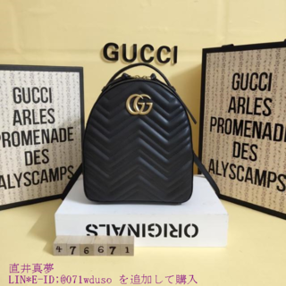 Gucci - GG Marm◕ont リュック