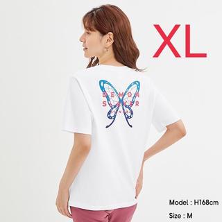 GU - 新品未使用 鬼滅の刃 GU コラボTシャツ 栗花落カナヲ XLサイズ  ホワイト