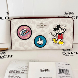 COACH - 2020最新作☆COACH 新品 ディズニー限定 ミッキーマウス♡ 長財布