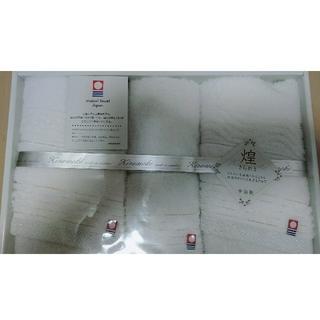 イマバリタオル(今治タオル)の今治タオル 新品 箱なし フェイスタオル2枚ウォッシュタオル1枚(タオル/バス用品)