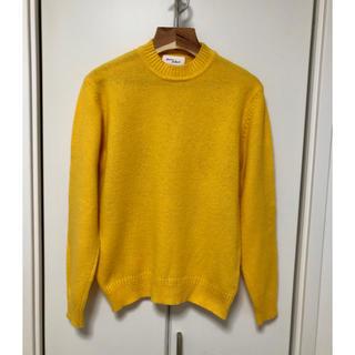 アダムエロぺ(Adam et Rope')のアダムエロペ シャギーセーター シャギードッグセーター ニット サイズM 黄色(ニット/セーター)