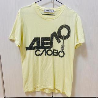 ビームス(BEAMS)のbeamsのイエローTシャツ(Tシャツ/カットソー(半袖/袖なし))