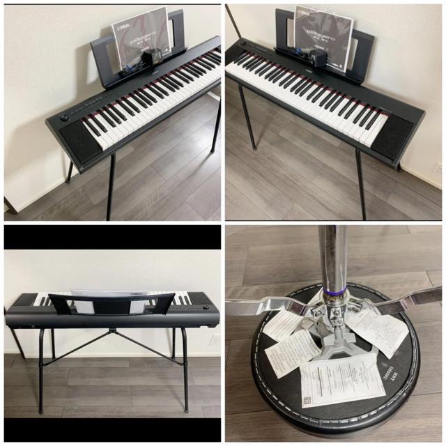 ヤマハ(ヤマハ)のYAMAHA キーボード  NP-12B 楽器の鍵盤楽器(電子ピアノ)の商品写真