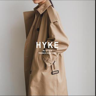 HYKE - 本日限定 送込みhykeトレンチコート big 3 新品未使用タグ付き ビッグ