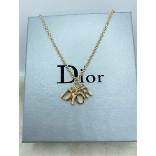 Christian Dior - CD570 未使用【Dior ディオール】ネックレス イニシャル ゴールド