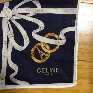 celine - CELINE PARIS ハンカチ