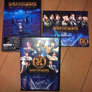 キスマイフットツー(Kis-My-Ft2)のLIVE TOUR 2017 MUSIC COLOSSEUM(初回盤) DVD(アイドル)