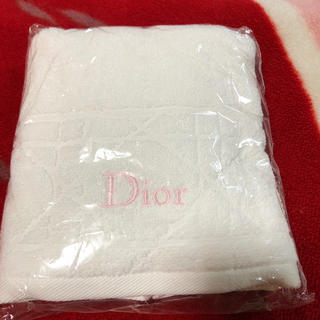 クリスチャンディオール(Christian Dior)のDior 限定 フェイスタオル(タオル/バス用品)