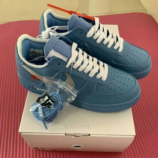 OFF-WHITE - 26.5 OFF WHITE Nike Air Force 1 MCA Blue