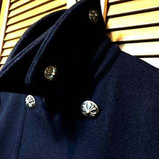 ロンハーマン(Ron Herman)の-SLAP SHOT-   黒Pコート【上質】🇯🇵Made in Japan(ピーコート)