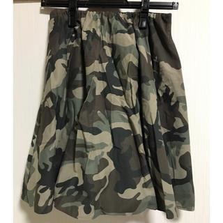 ローズバッド(ROSE BUD)のROSE BUD 迷彩フレアスカート(ミニスカート)