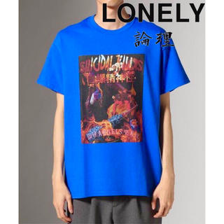 LONELY 論理 UNFOLLOW ANGELS SS Tee Tシャツ