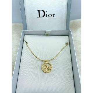 Christian Dior - CD523 未使用【Dior ディオール】ネックレス イニシャル ゴールド
