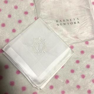 バーニーズニューヨーク(BARNEYS NEW YORK)のバーニーズ☆新品ハンカチ(ハンカチ)