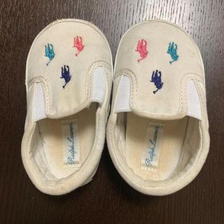 ポロラルフローレン(POLO RALPH LAUREN)のPOLO 赤ちゃん靴(スリッポン)