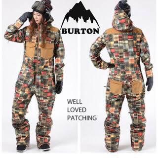 バートン(BURTON)のBURTON バートンウェア ウエア つなぎ スノーボード スノボ チェック(ウエア/装備)